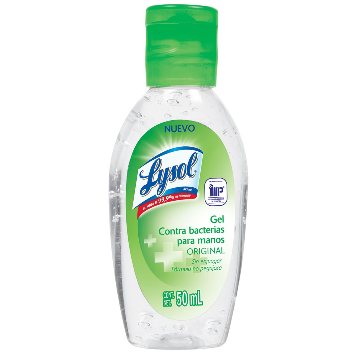 Lysol gel contra bacterias para manos 50 ml  - Sanborns