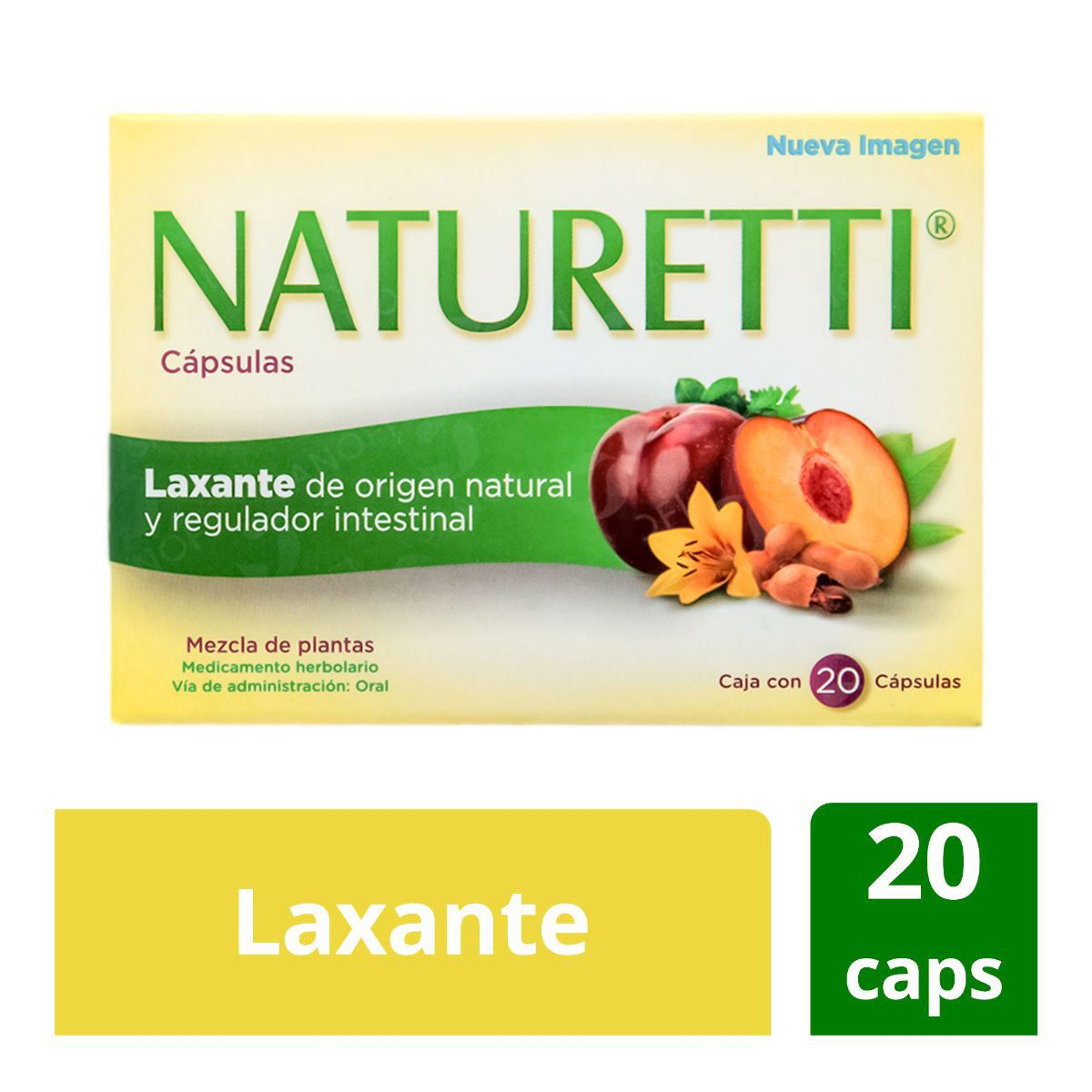 Naturetti 20 cápsulas  - Sanborns