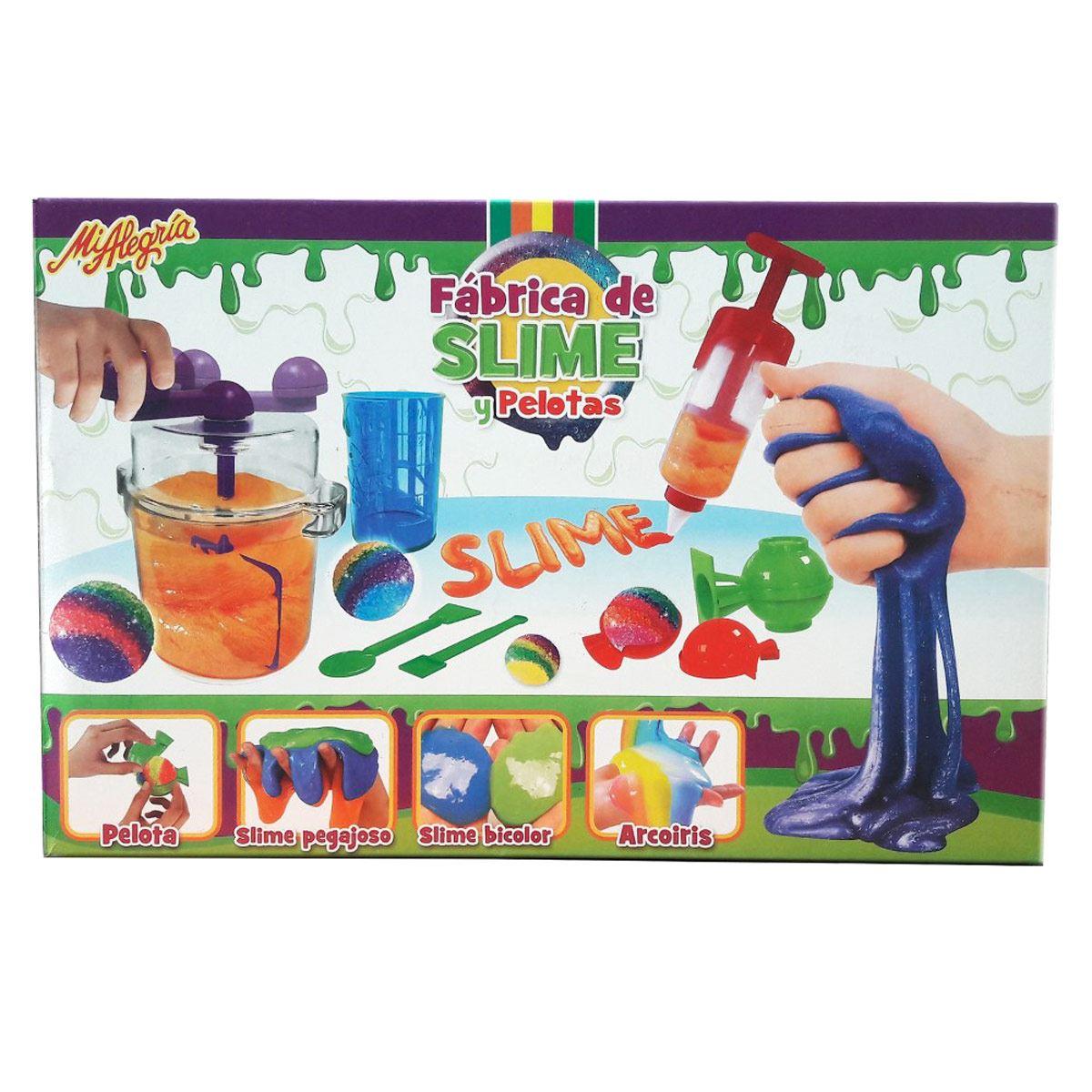 Fábrica de Slime y Pelotas Mi alegría