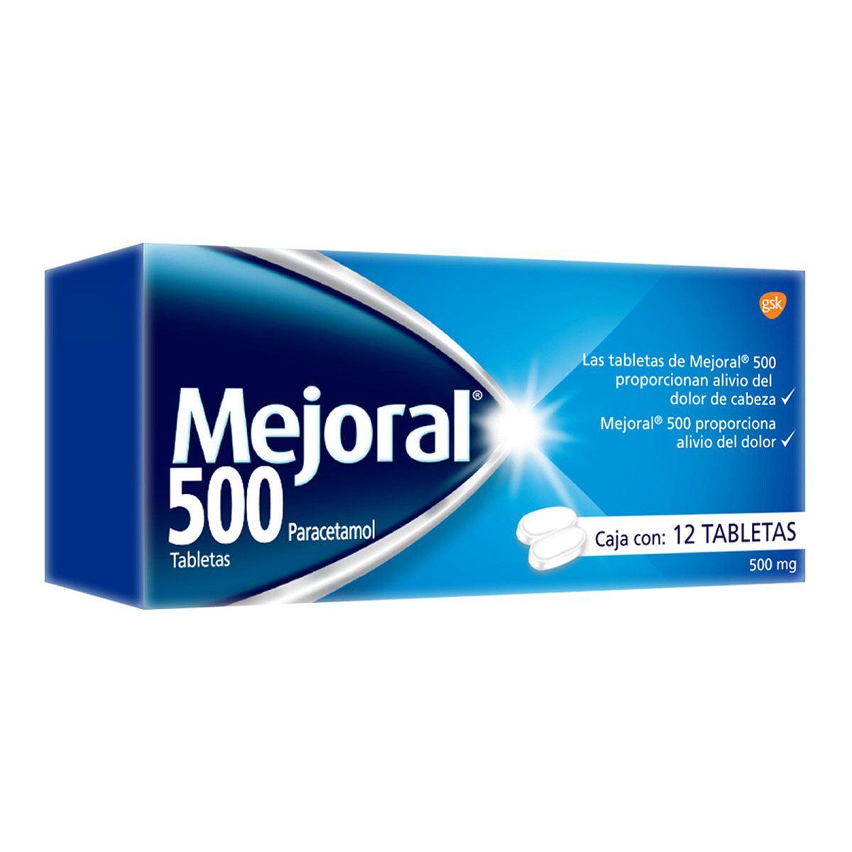Mejoral 500 12 tabletas  - Sanborns