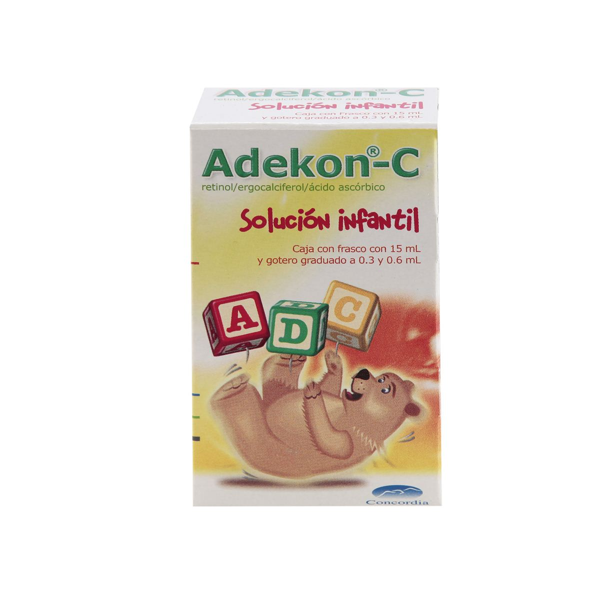 Adekon- c gotas 15 ml  - Sanborns