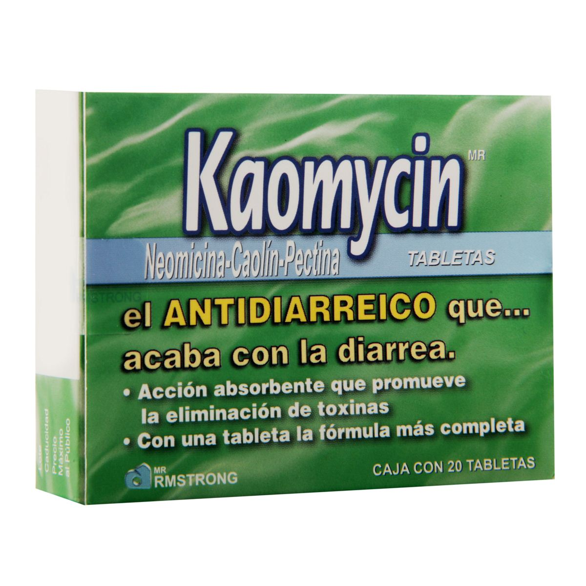 Kaomycin tab 20  - Sanborns