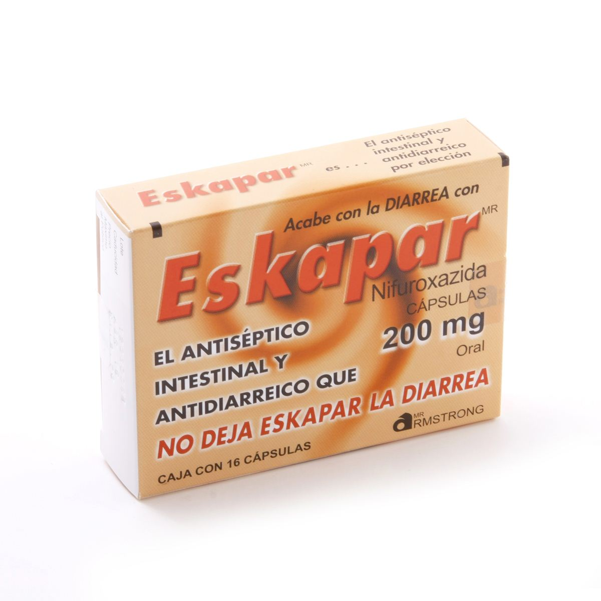 Eskapar con 16 cápsulas 200 mg  - Sanborns