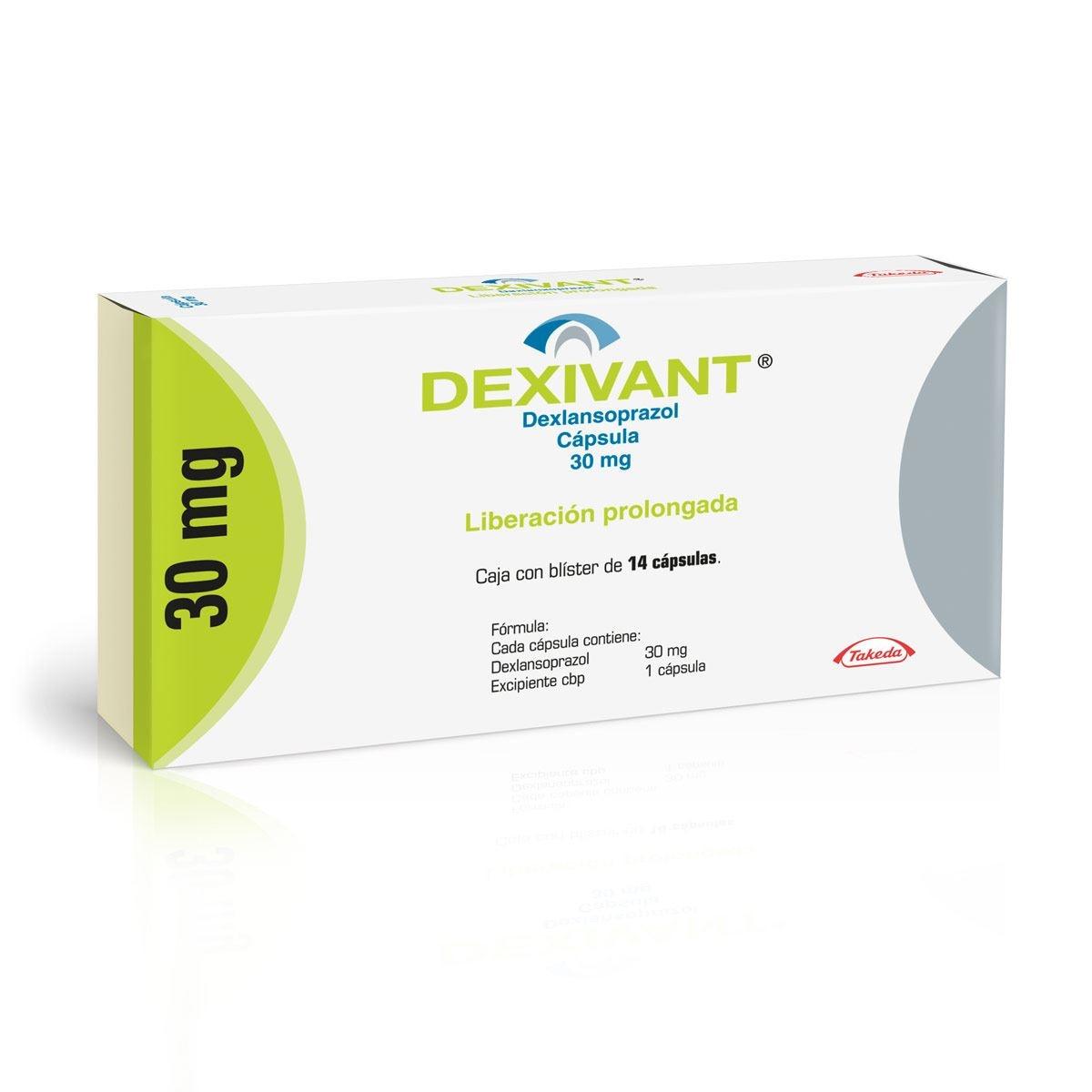 Dexivant 30 mg Caja con 14 Cápsulas