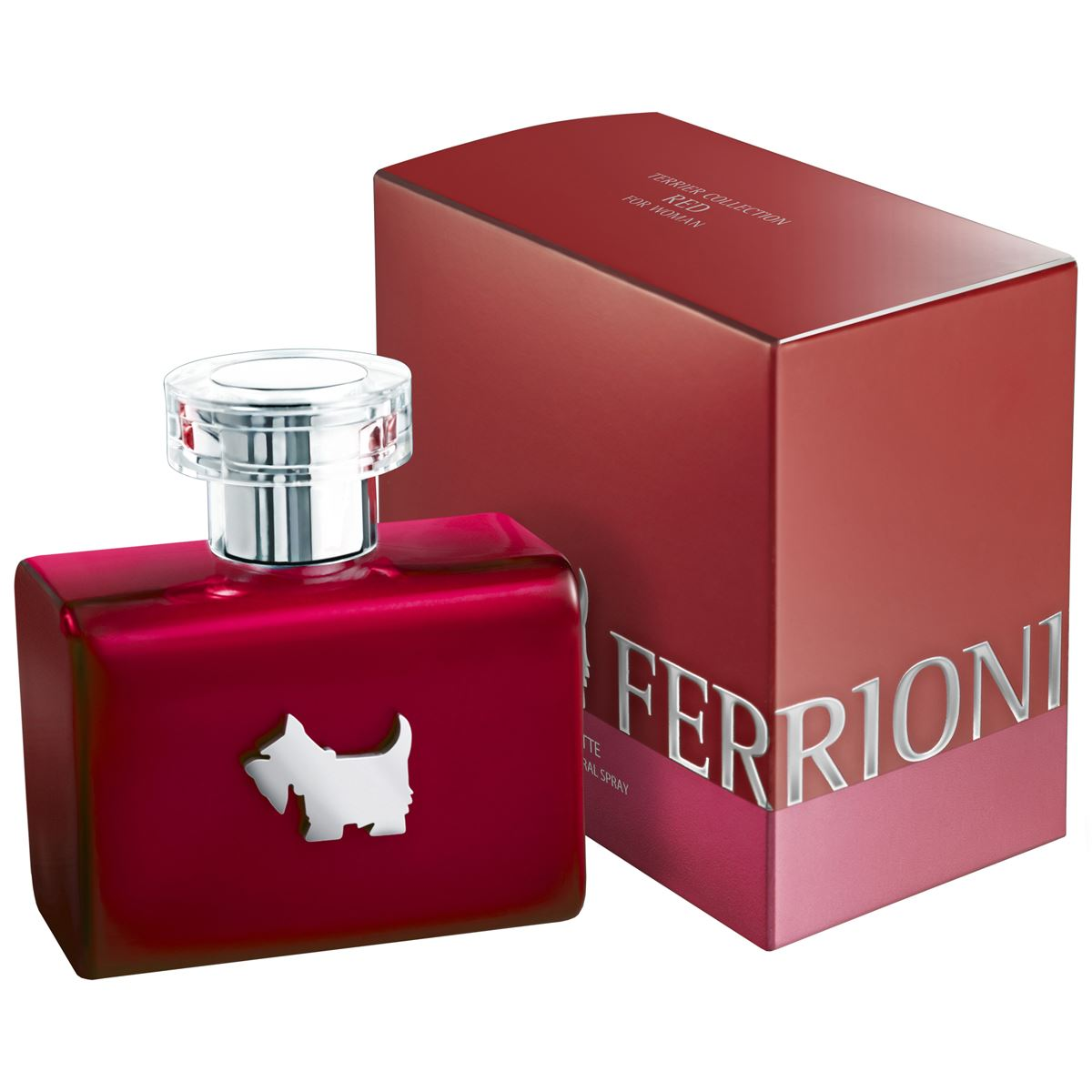 """Terrier Collection Red for Woman"" de Ferrioni"