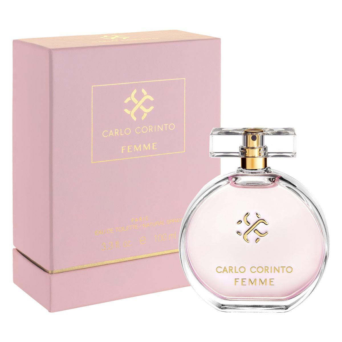 Fragancia Para Dama Carlo Corinto Femme 100 ml