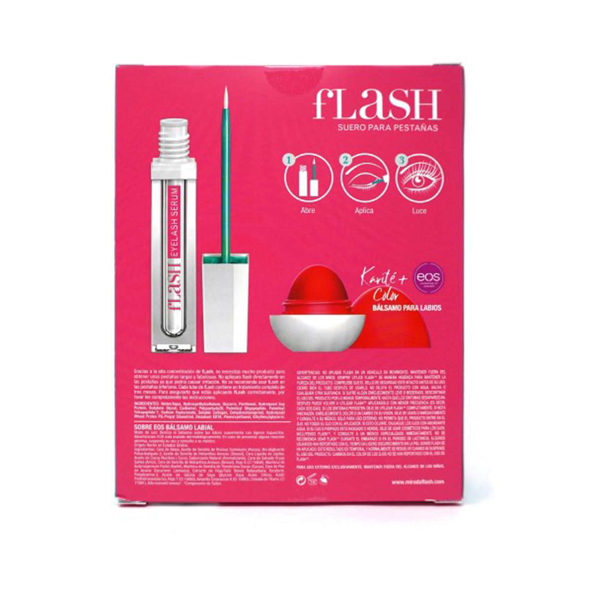 FL FLASH + EOS Red