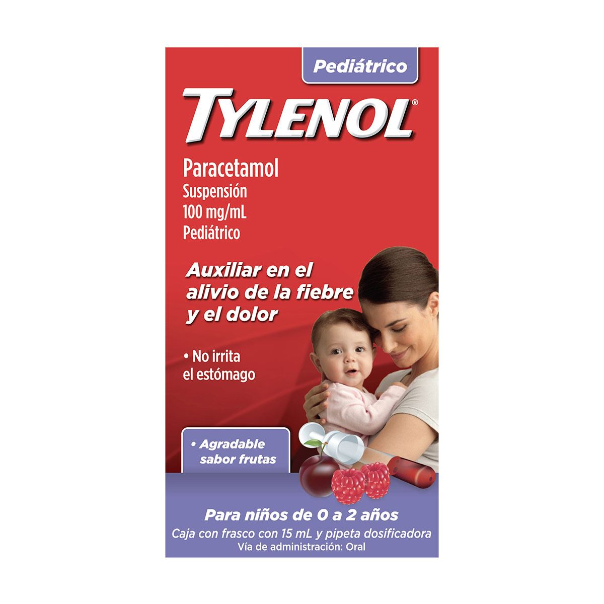 Tylenol gotas 15 ml  - Sanborns