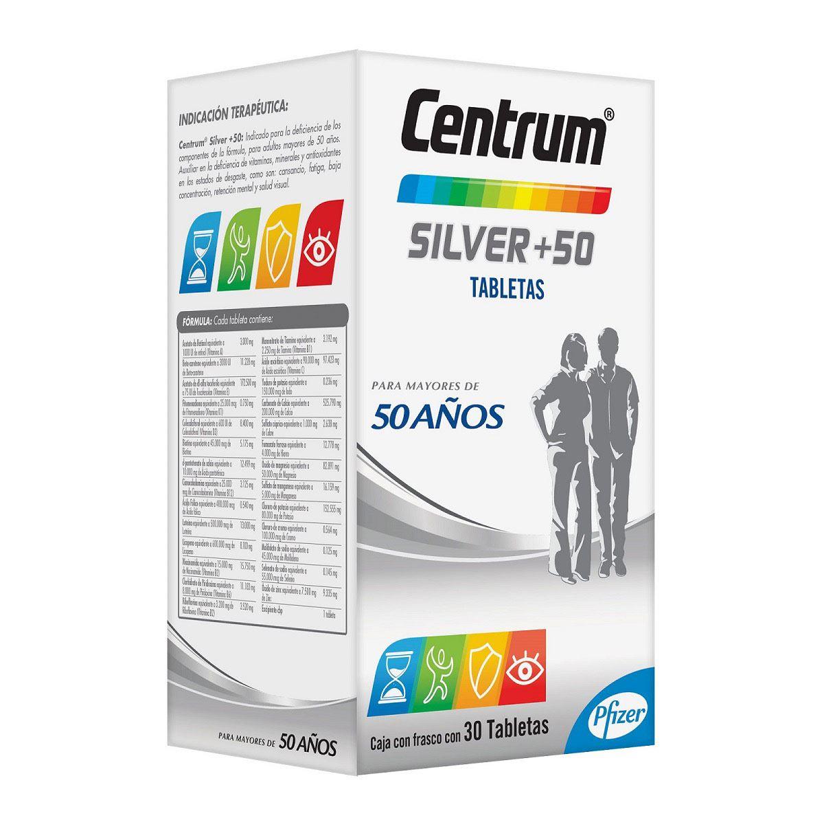 Centrum-silver tab 30