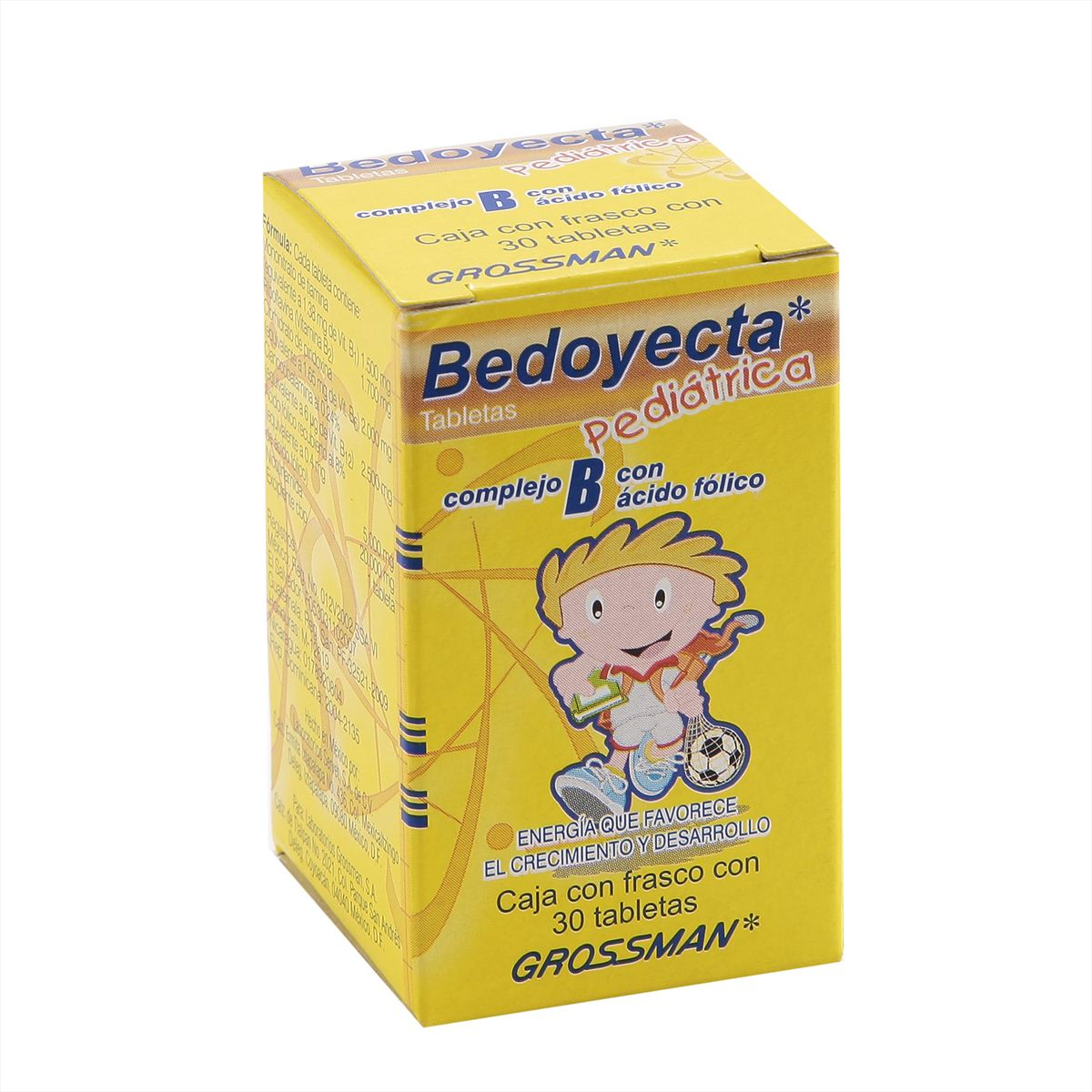 Bedoyecta pediádtrica 30 tabletas  - Sanborns
