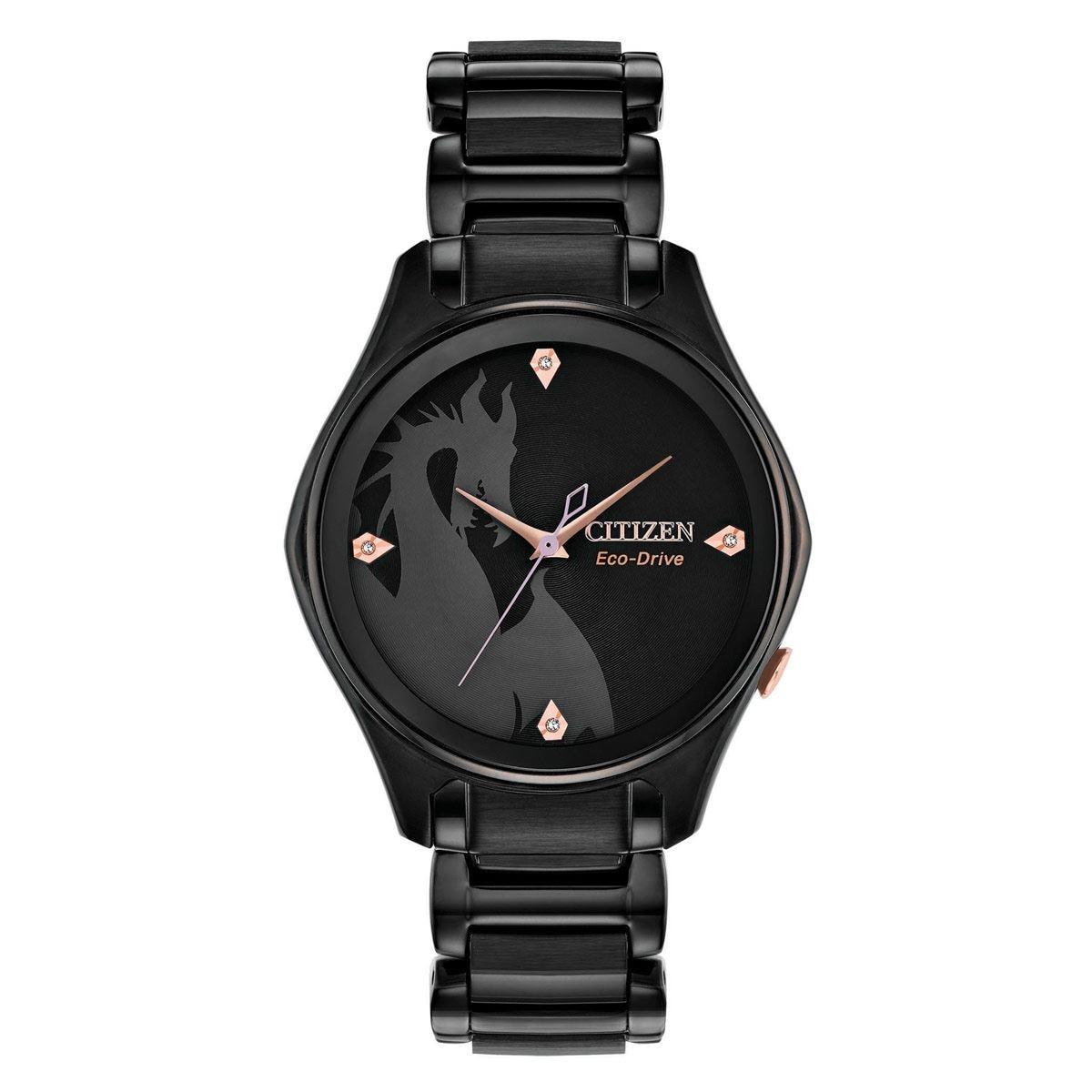 Reloj Citizen Eco Drive 61341 Disney Maléfica Para Dama