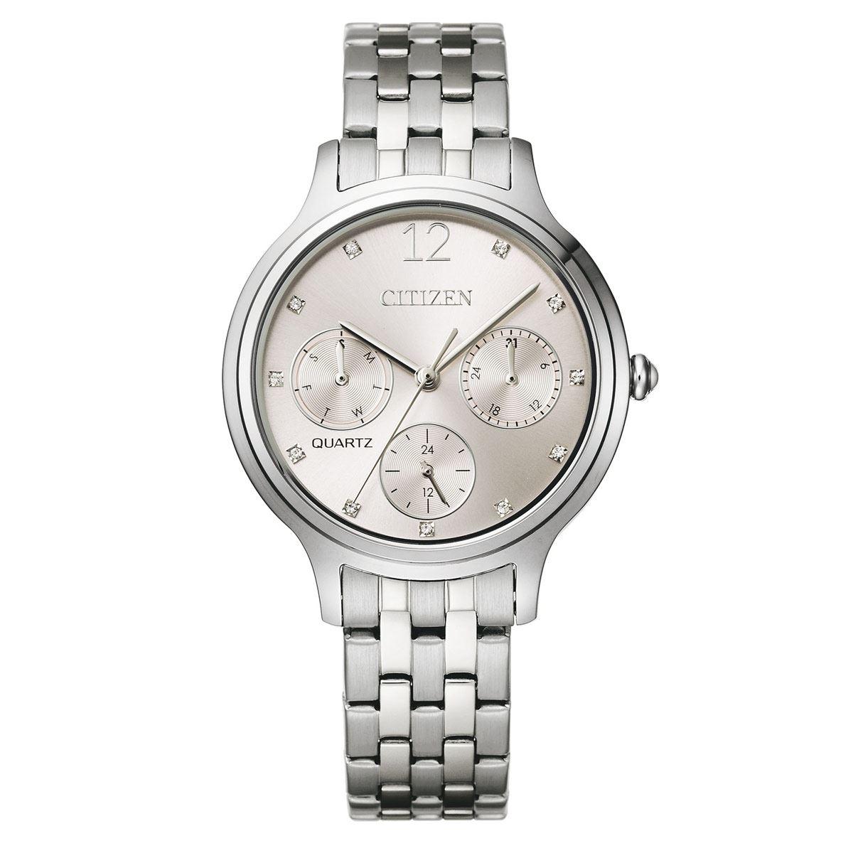 Reloj Citizen Cuarzo 61356 Ladies Para Dama