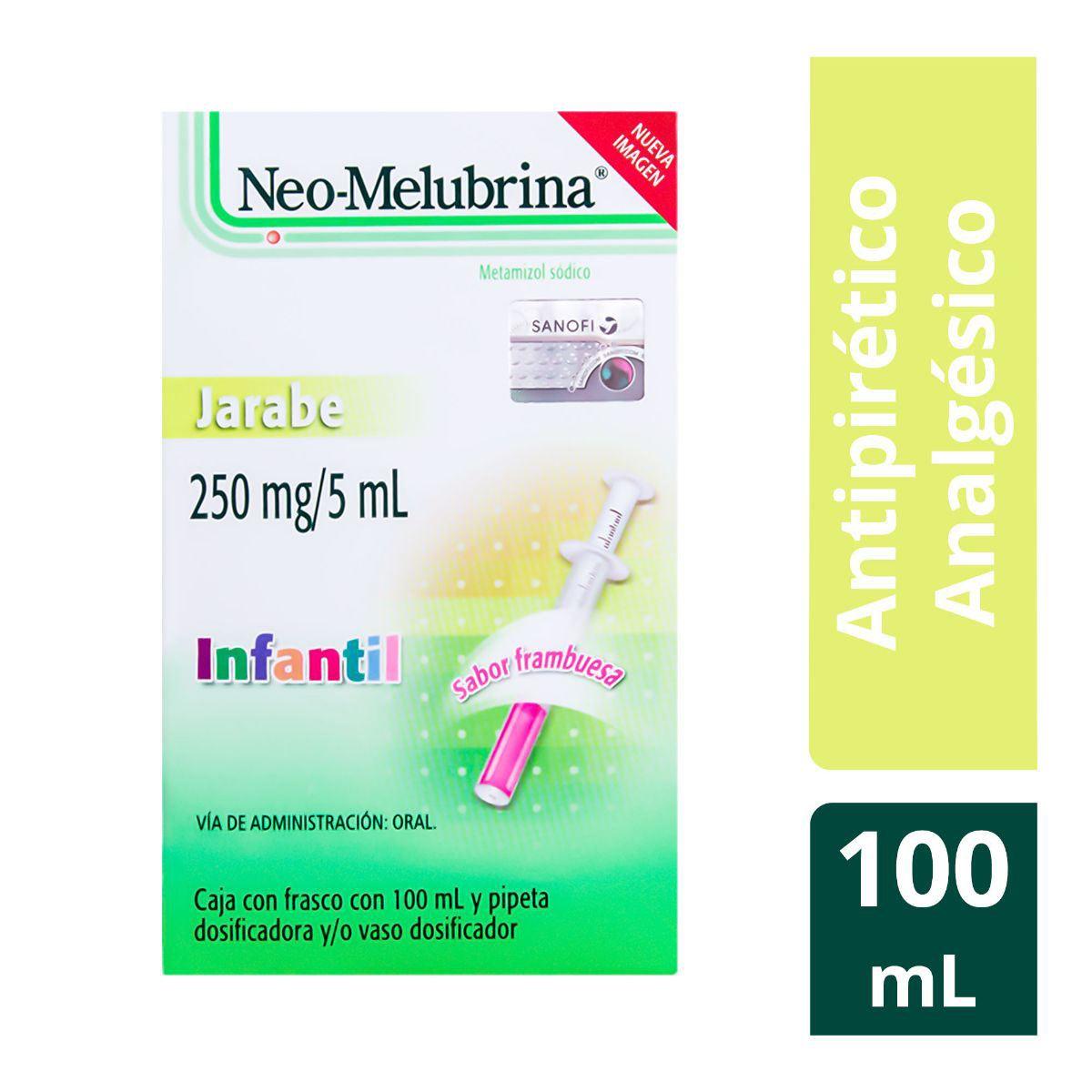 Neo-melubrina jarabe infantil 5 G/100ml