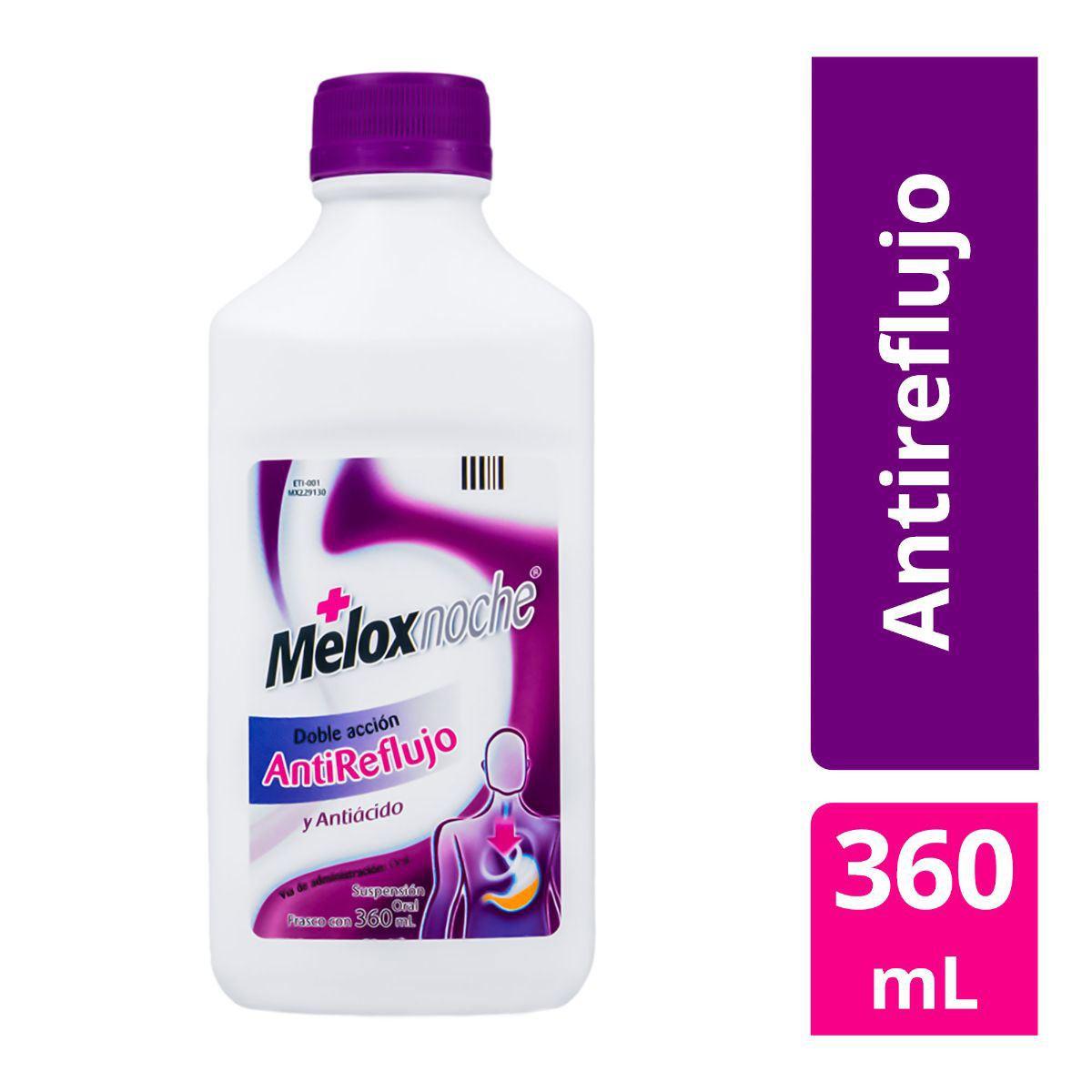 Melox noche suspensión 360 ml  - Sanborns