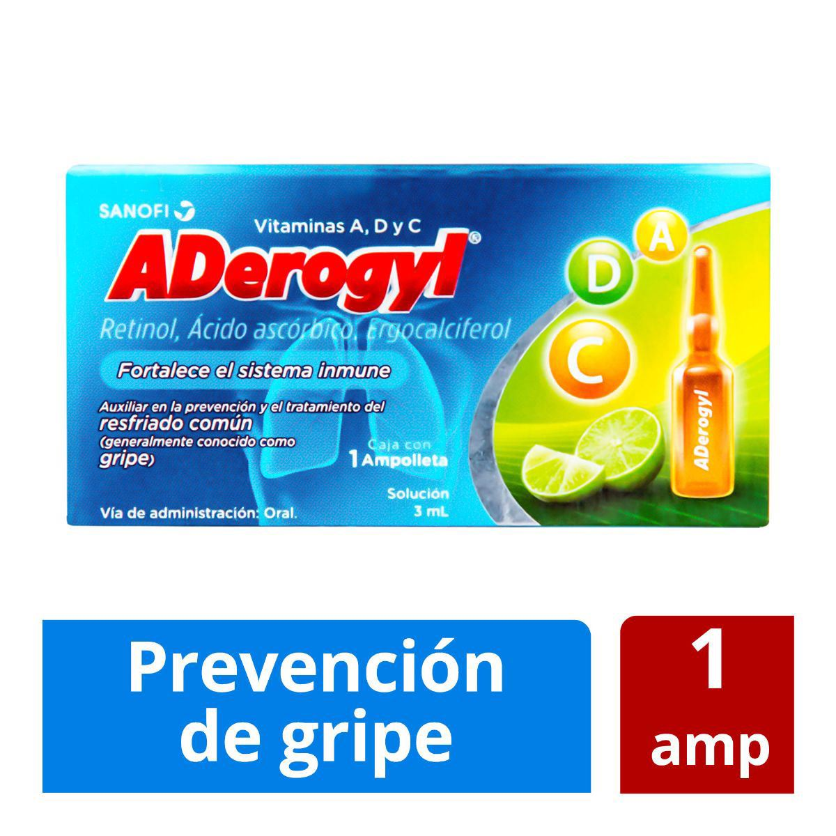 Aderogyl 15 con 1 ampolleta  - Sanborns