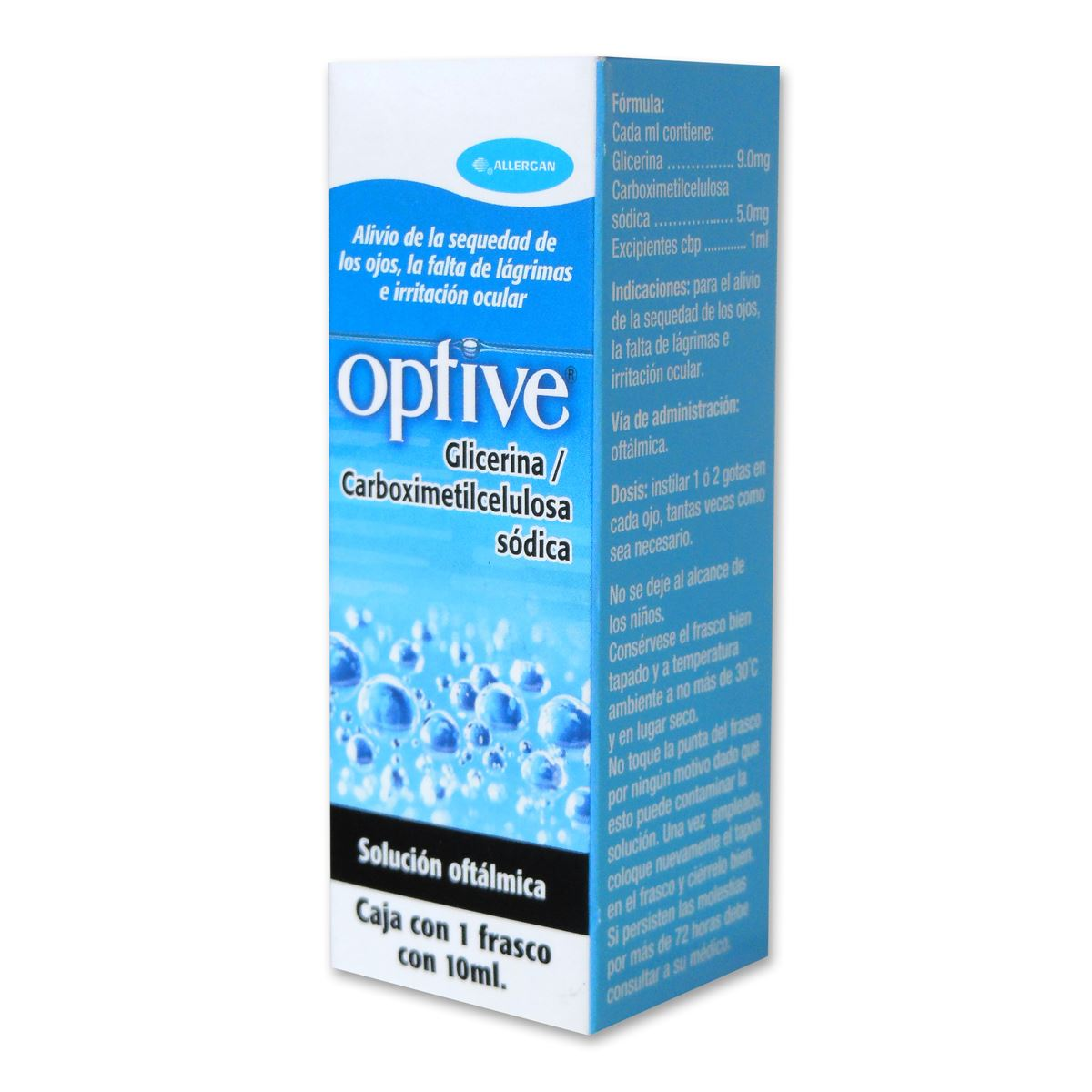 Optive solución 10 ml  - Sanborns
