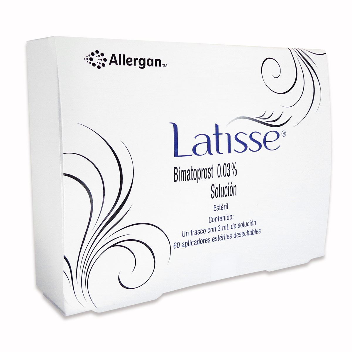 Latisse sol 3ml c/60 aplicador  - Sanborns