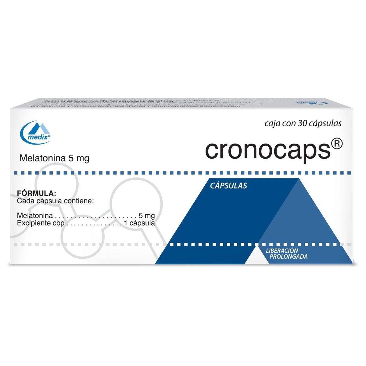 Cronocaps 30 cápsulas 5 mg  - Sanborns