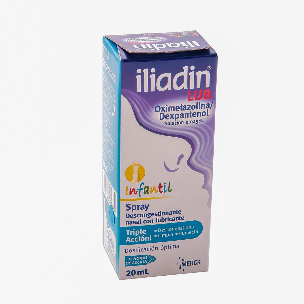 Iliadin lub spray 20ml inf  - Sanborns