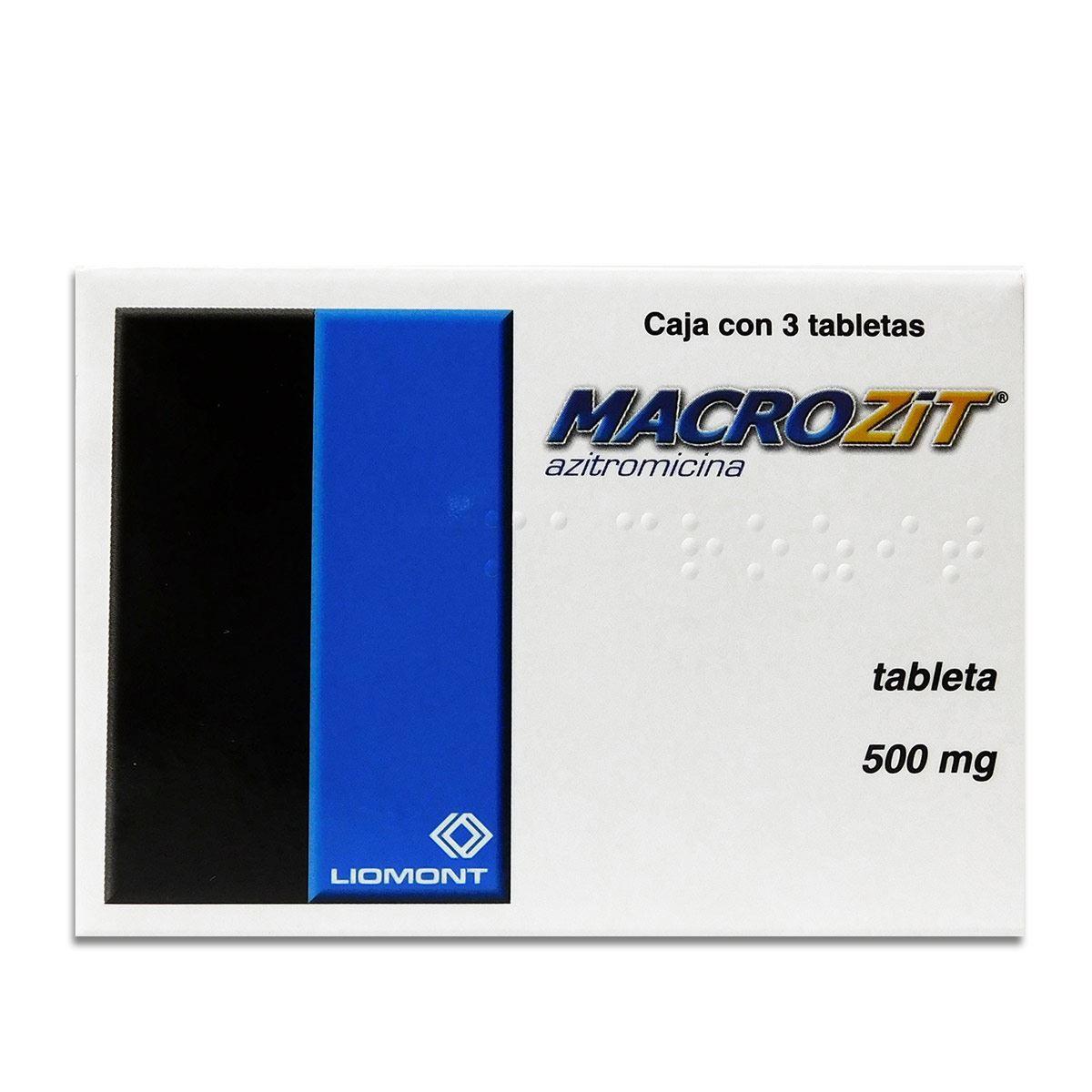 MACROZIT 500 MG