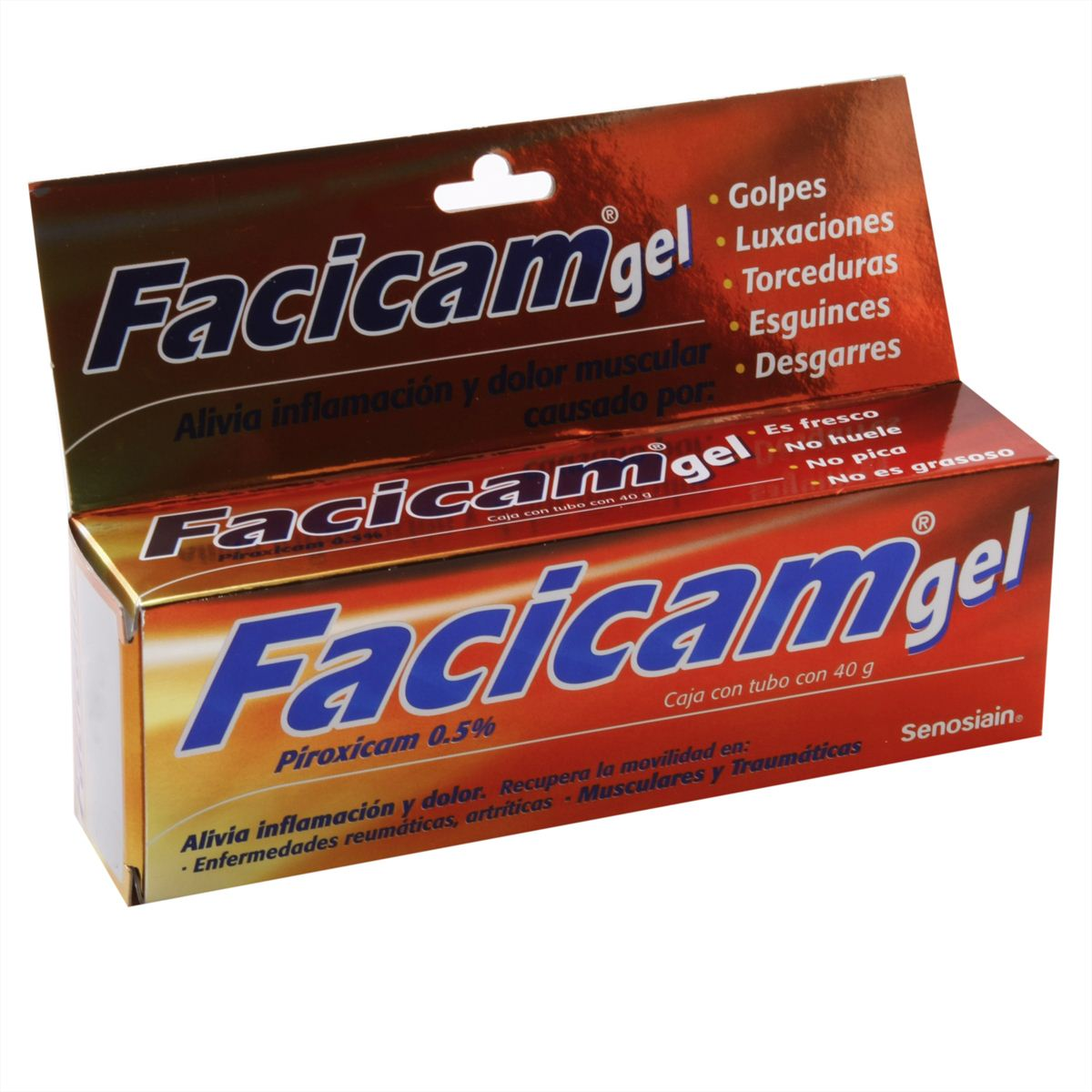 Facicam gel tub.40gr.