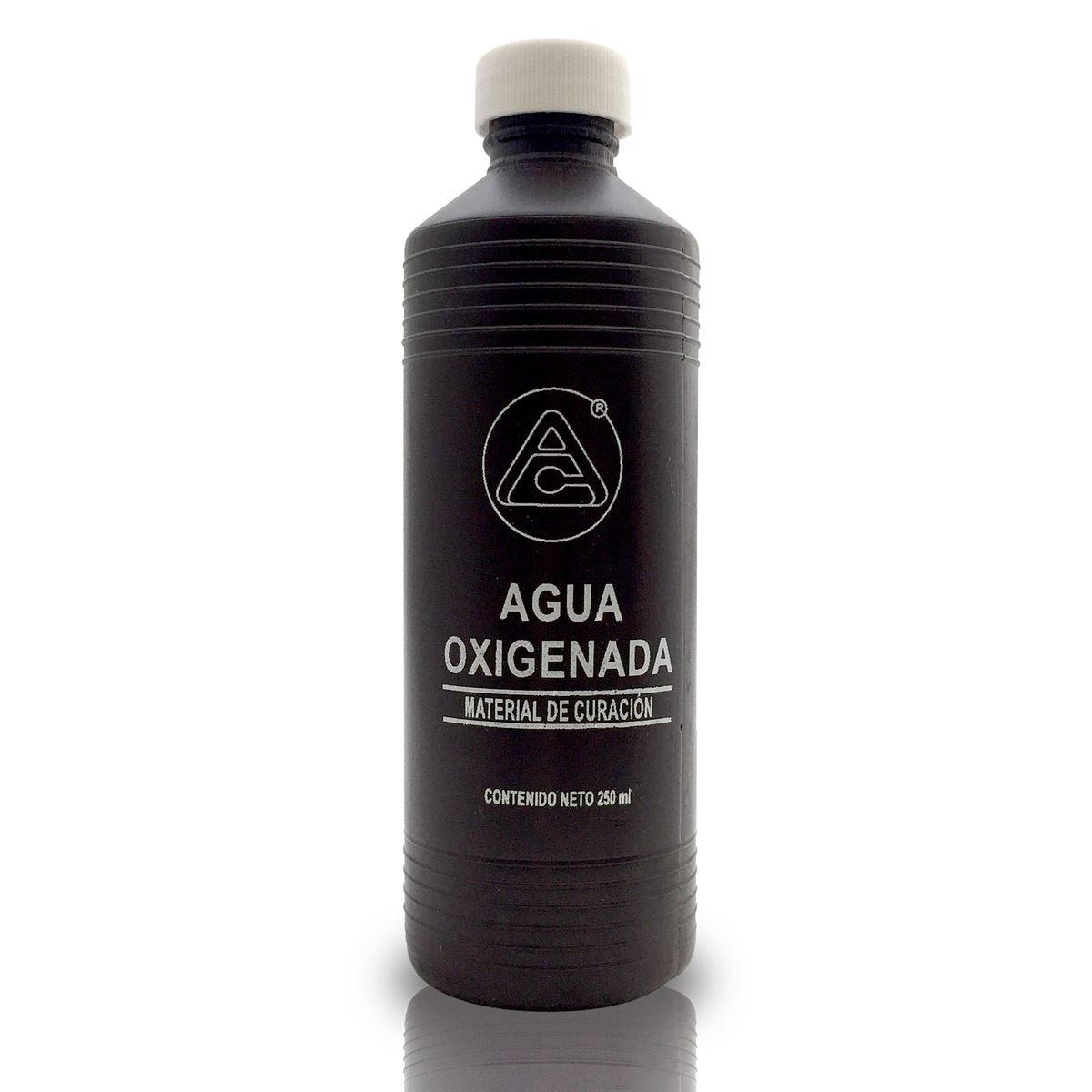 Botella agua oxigenada