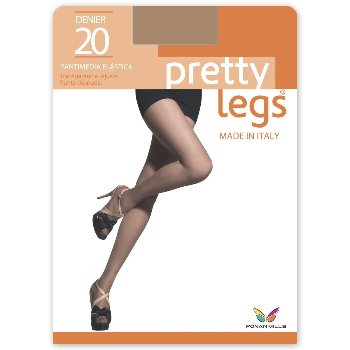 Pantimedia Pretty Legs  P7205 Mediana