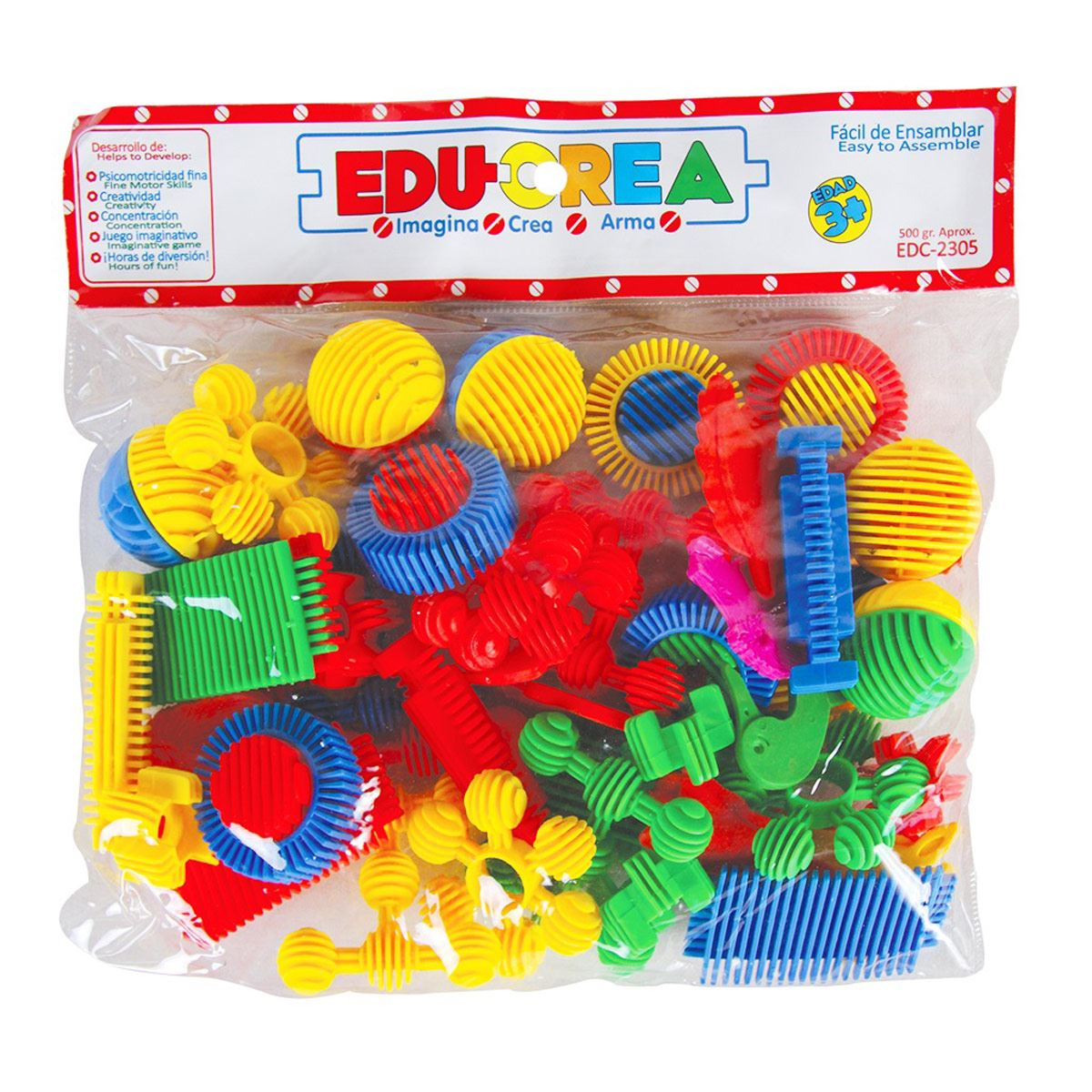 Juego de Ensamble Flexi Animals Educrea