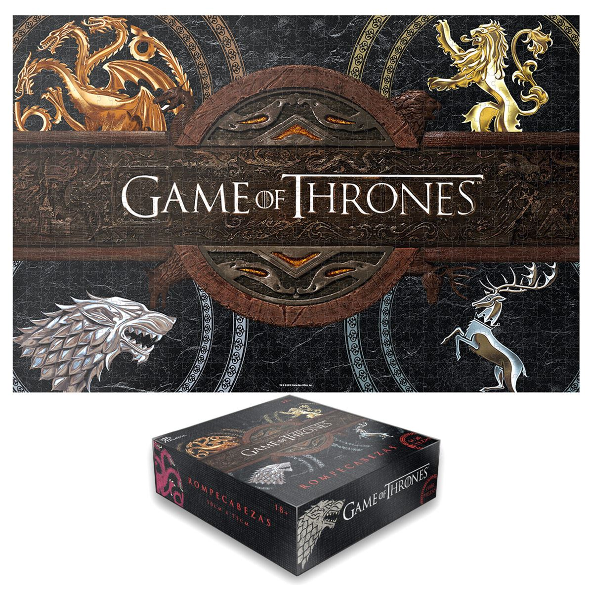 Rompecabezas Games Of Thrones Logos Kelvin