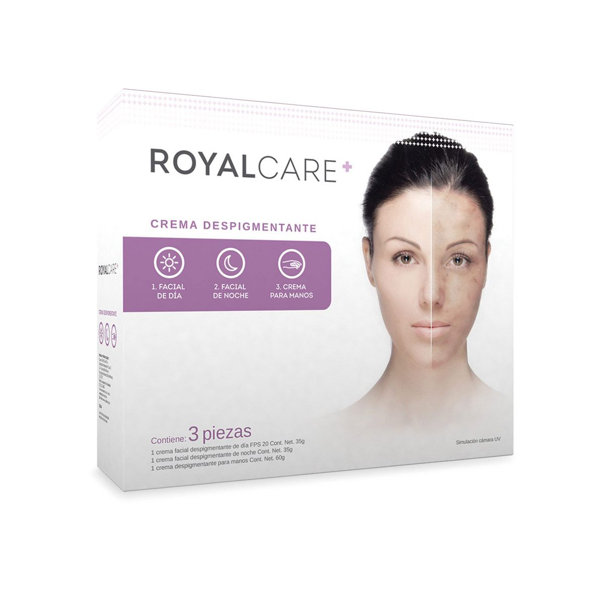 Kit de Cremas Despigmentantes Royal Care
