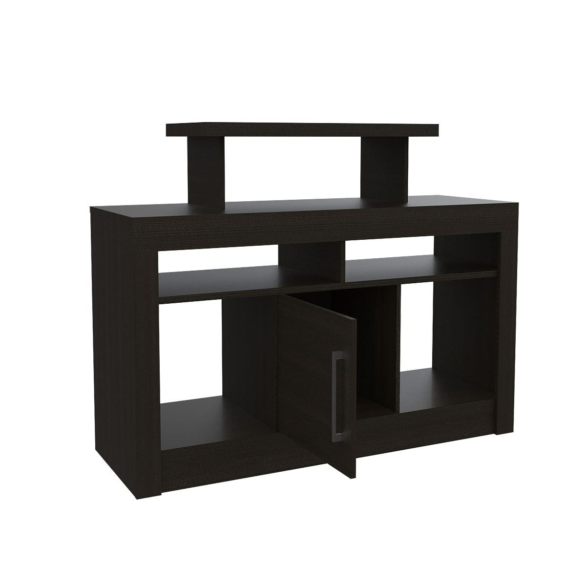 Rack para TV Excelsior Florida Color Chocolate Armable