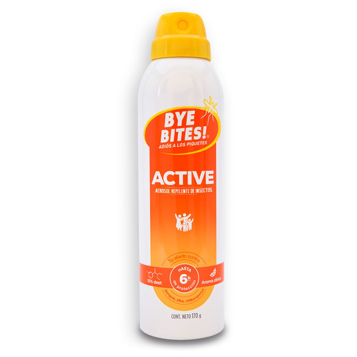 Repelente bye bites active  - Sanborns