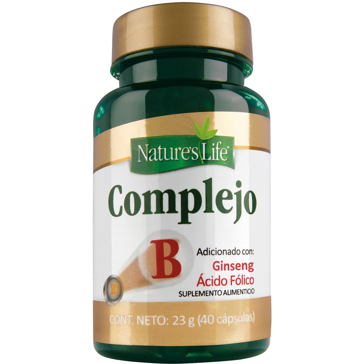 Complejo b  cápsulas 40  - Sanborns