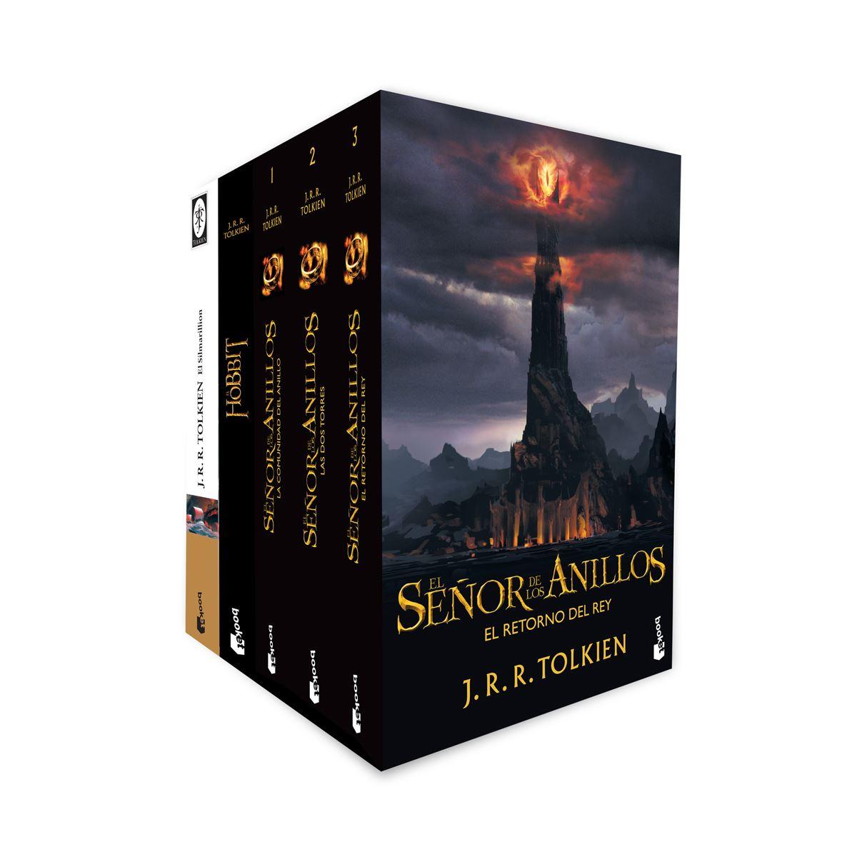 Paquete J. R. R. Tolkien 5 libros