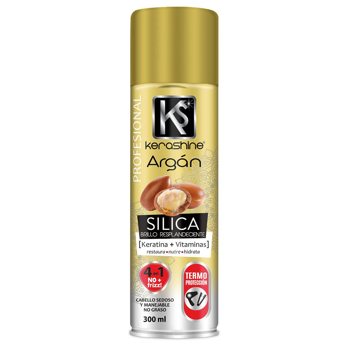 Silica en Spray de Argán Kerashine