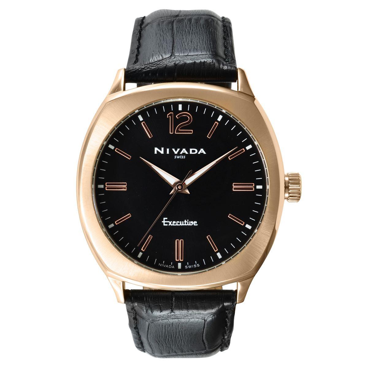 Reloj nivada np17073mdonr  - Sanborns