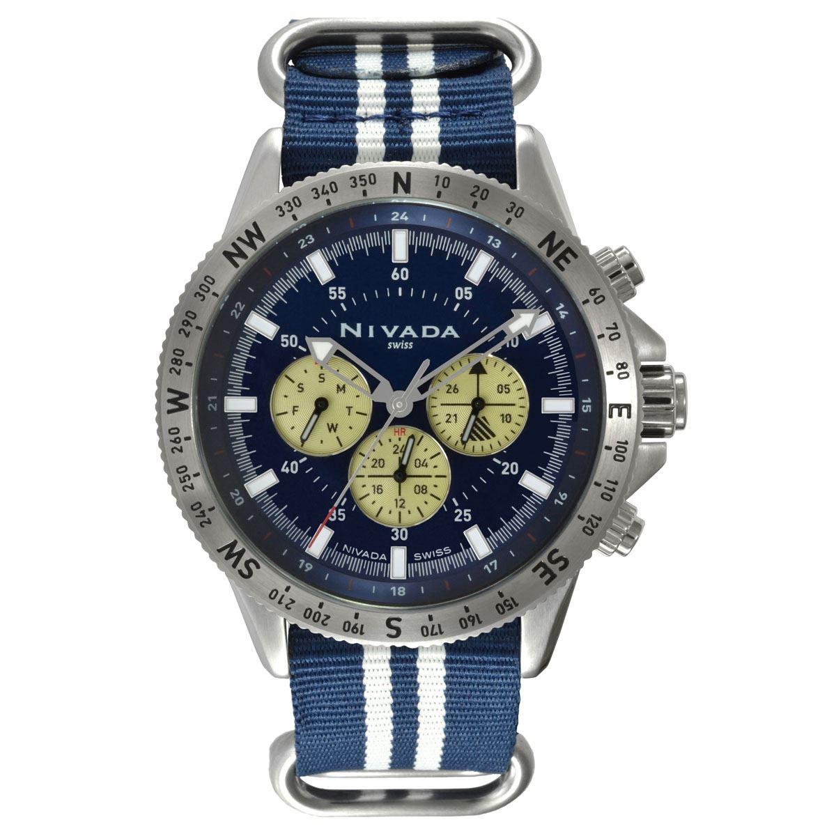 Reloj nivada caballero np17705macai  - Sanborns