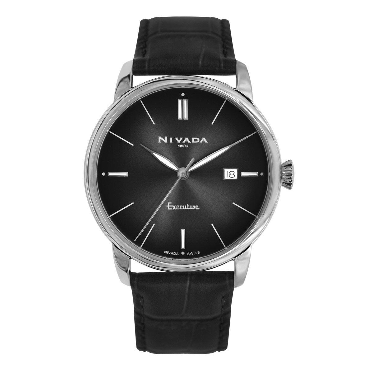 Reloj Nivada Executive Bicolor Para Caballero