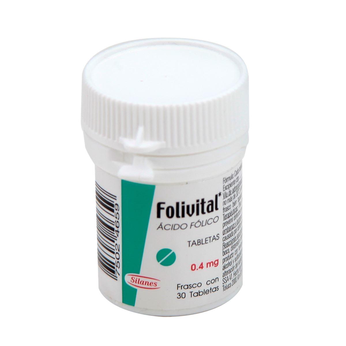 Folivital t 30 0.4mg