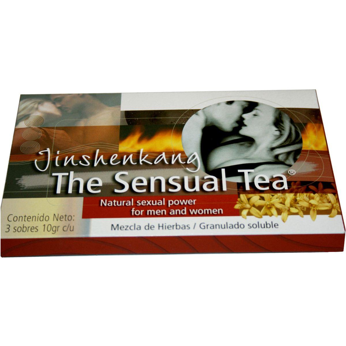 The sensual tea jinshen 3sobres/10gr.  - Sanborns