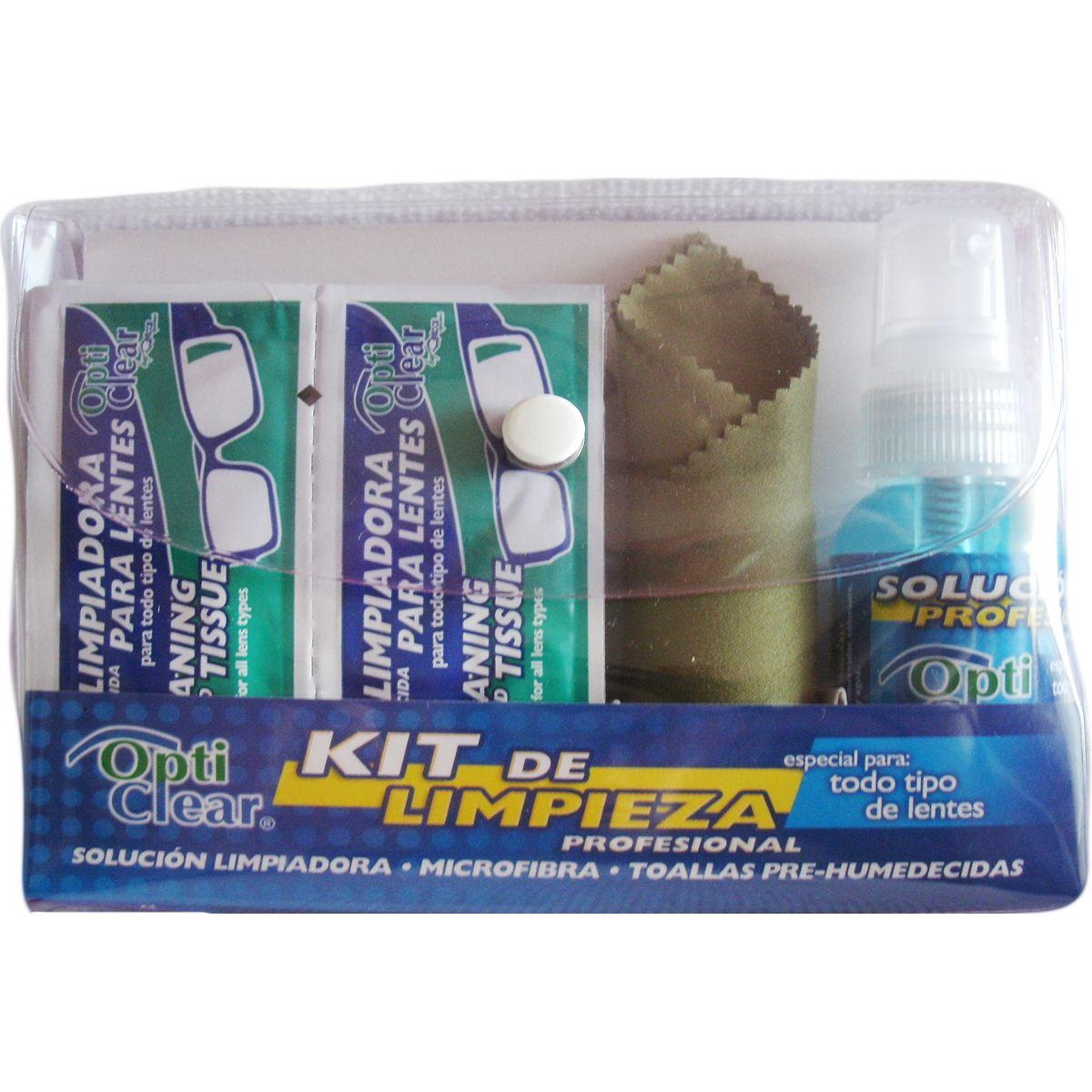 Kit de limpieza Opti Clear