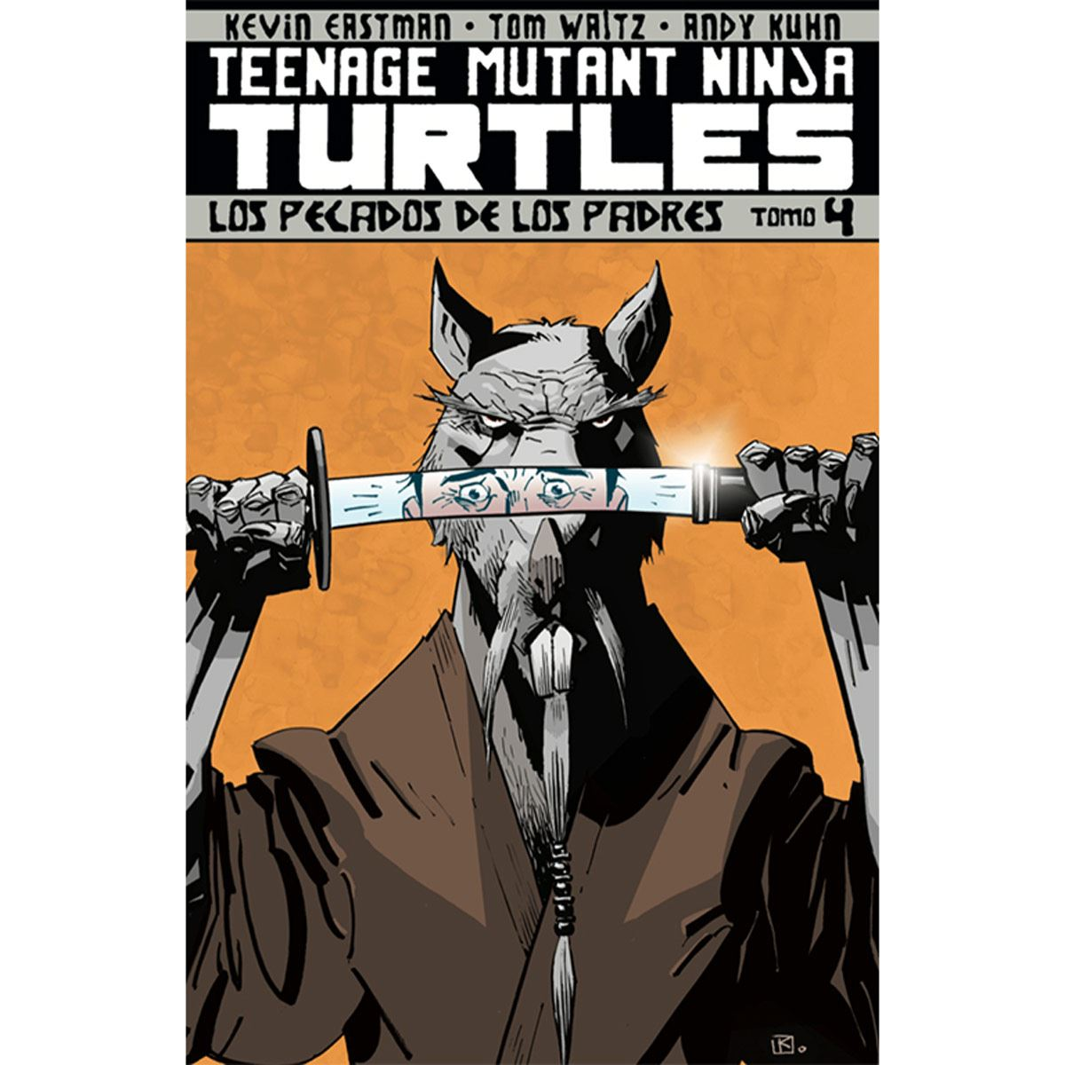 Comic TMN Turtles Tomo 4