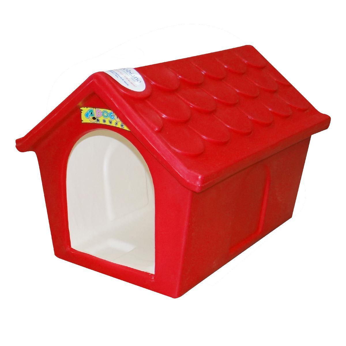 Casa para perro clásica pequeña doggy house rojo  - Sanborns