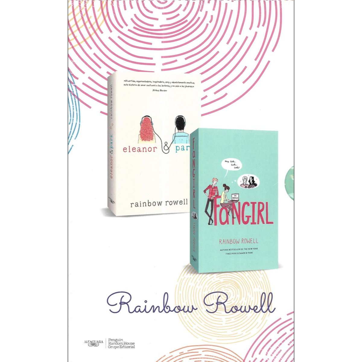 Paquete Rainbow Rowell