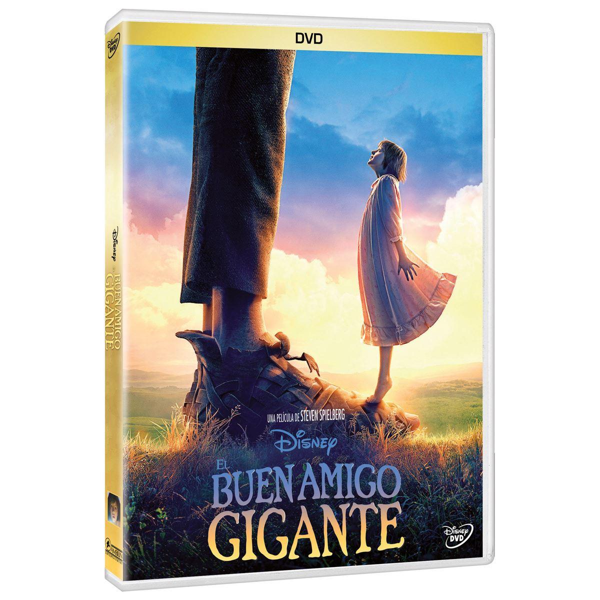 DVD El Buen Amigo Gigante