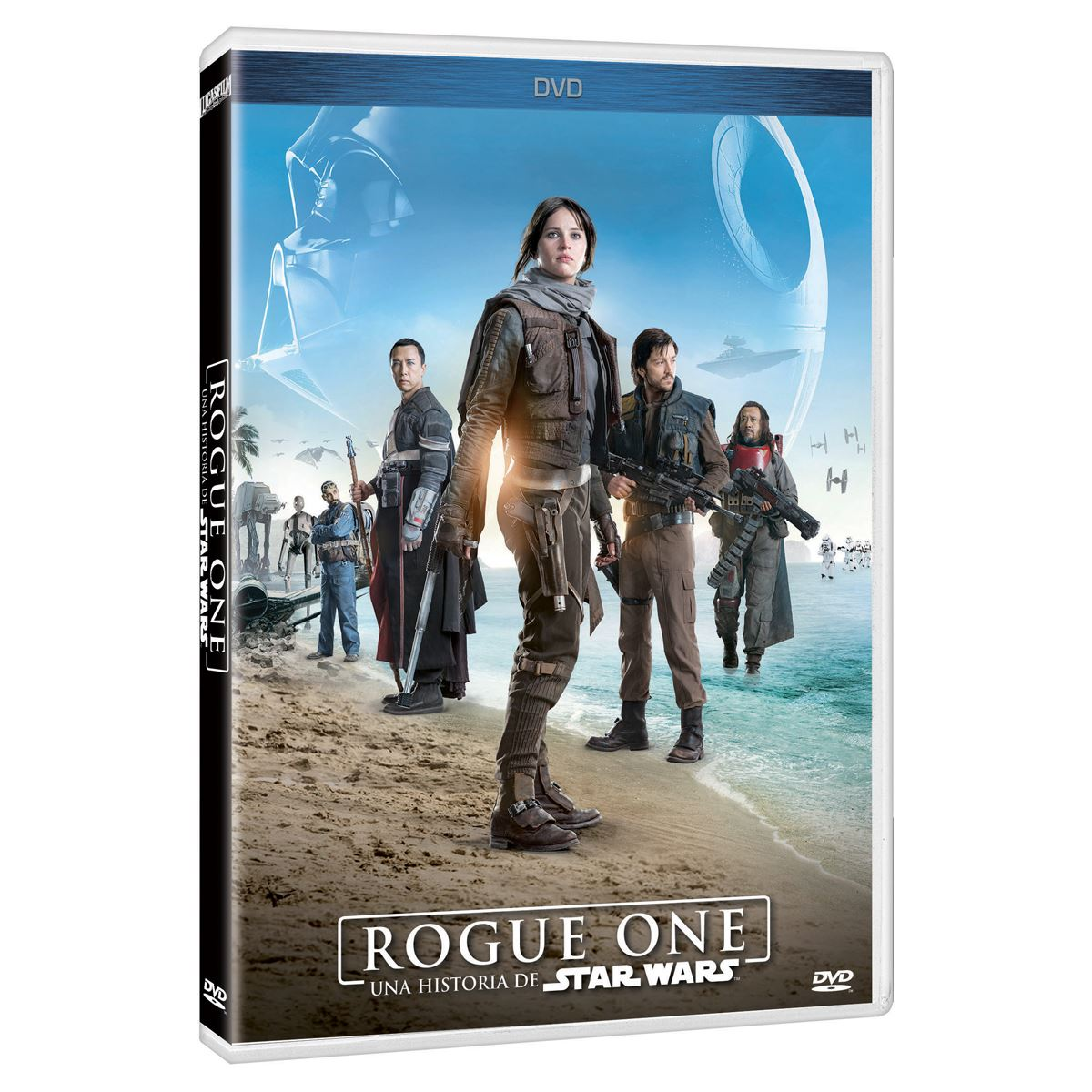 DVD Rogue One Una Historia de Star Wars