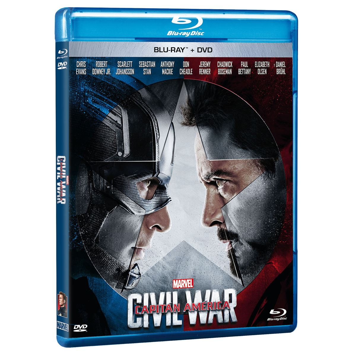 Br/dvd capitán américa civil war  - Sanborns