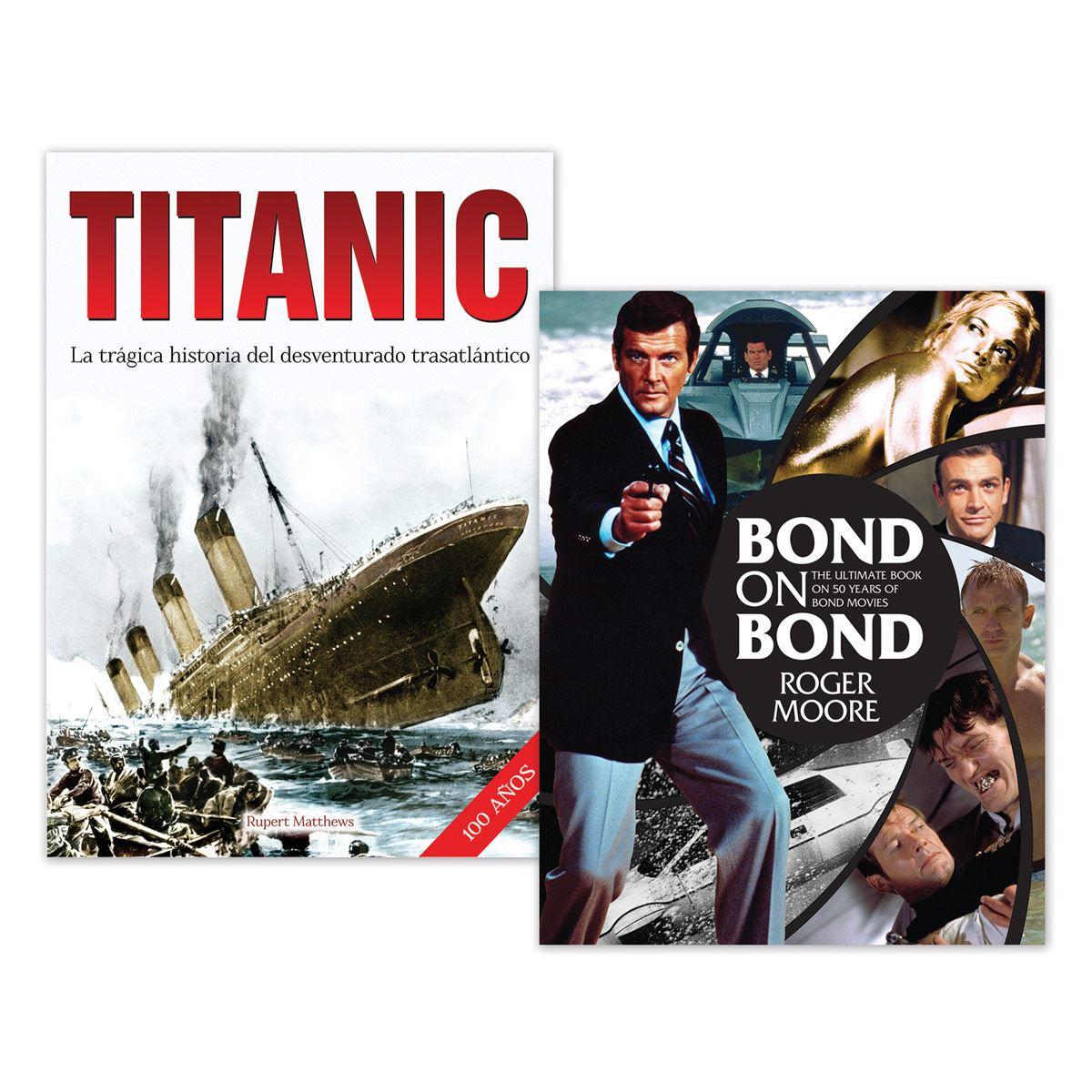 Paquete Bond on Bond - Titanic