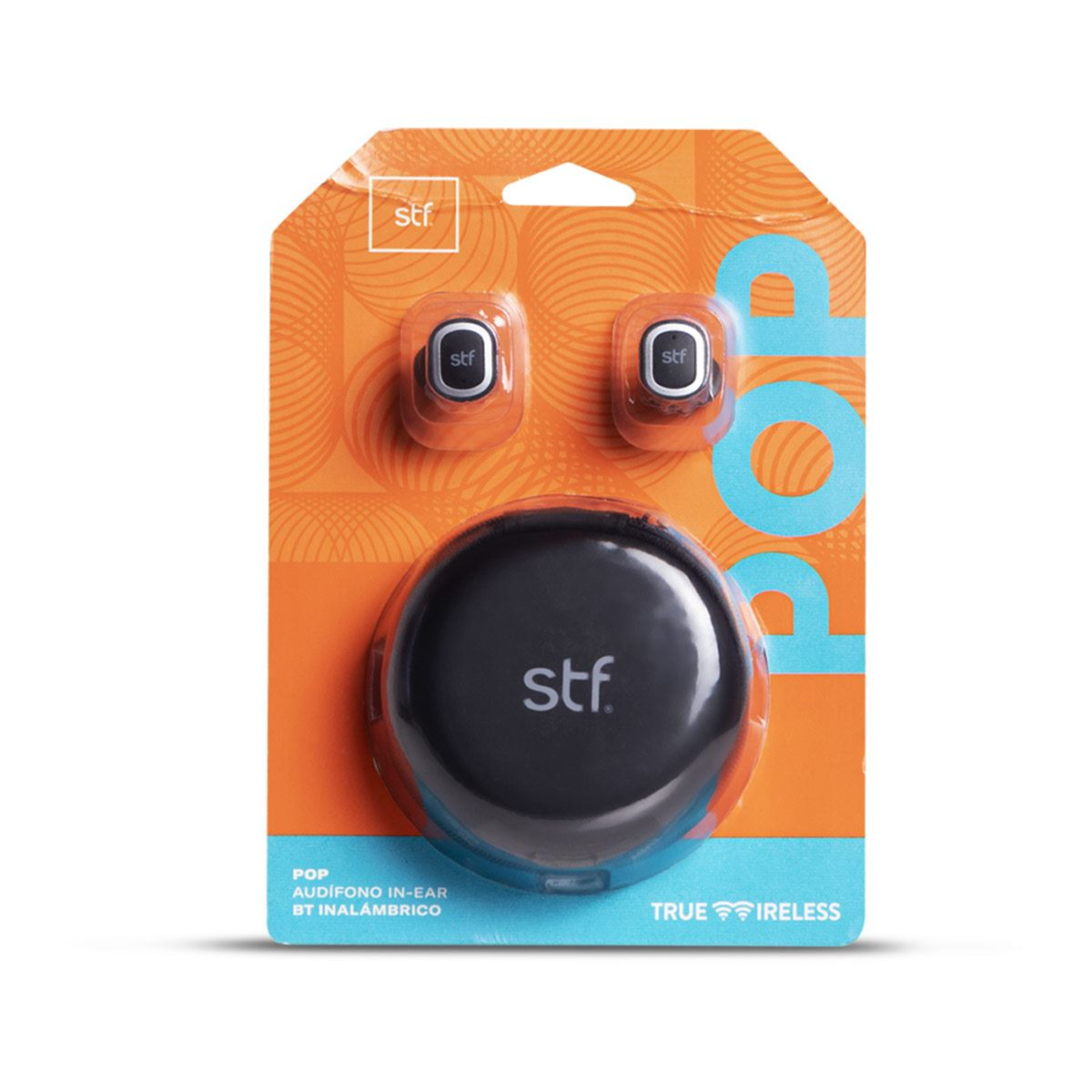 Audífonos Stuffactory Pop TrueWireless Negros
