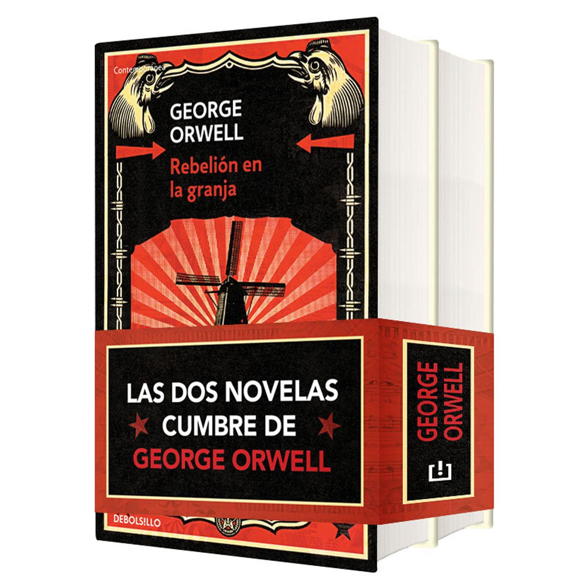 Paquete George Orwell